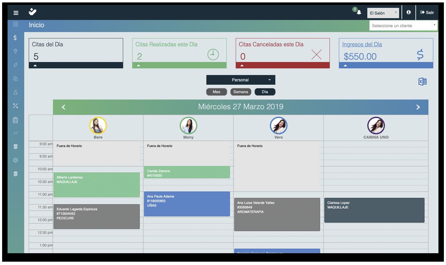 Software para la administración de tu negocio